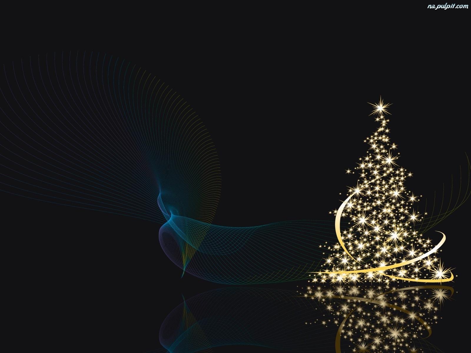 Grafika wi teczna choinka na pulpit - Arboles de navidad bonitos ...